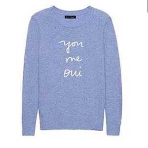 Banana Republic You Me Oui sweater - Large